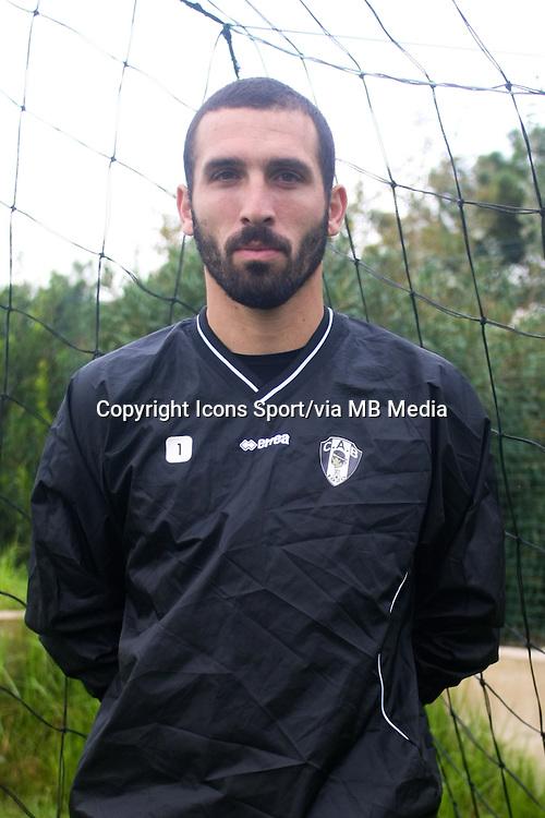 Sebastien LOMBARD - 29.10.2013 - Photo Officielle - CA Bastia -<br /> Photo : Icon Sport