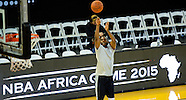 Johannesburg- NBA - Team Africa vs Team World 31 Jul 2015