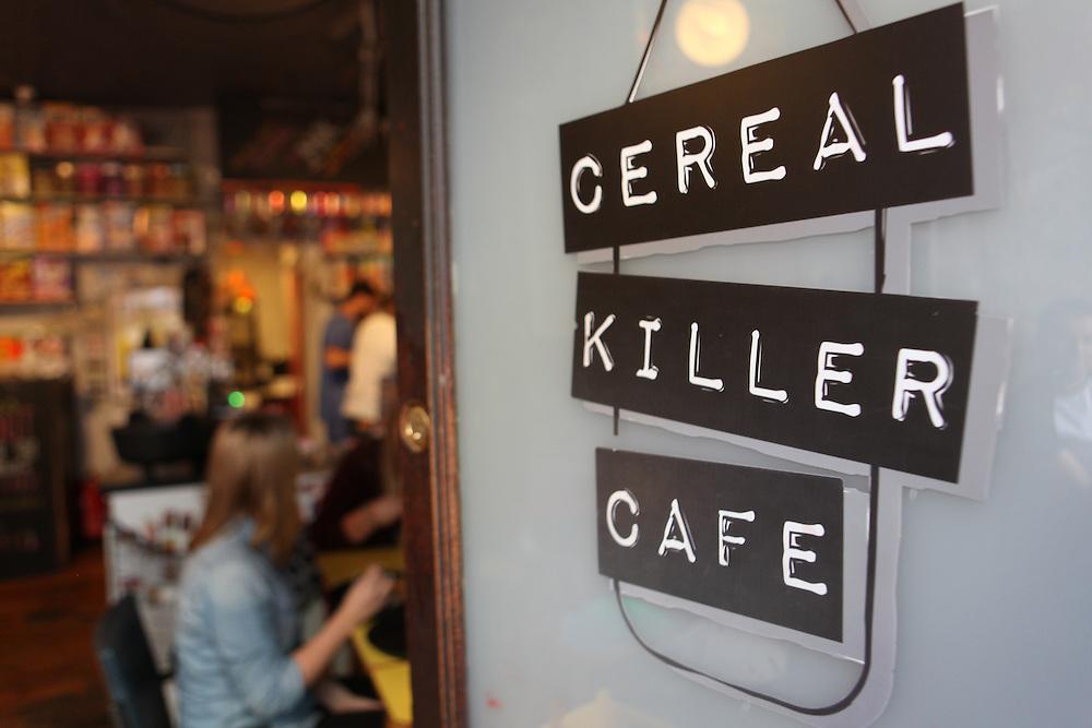 Cereal Killer Café, Brick Lane, London Class War
