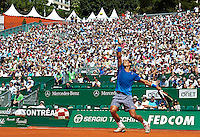 MONTE-CARLO, MONACO - APRIL 17:  ATP Monte Carlo Masters, at the Monte-Carlo Country Club on April 17, 2014 in Monte-Carlo, Monaco. (Photo by Manuel Queimadelos)