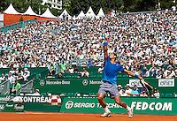 MONTE-CARLO, MONACO - APRIL 17:  ATP Monte Carlo Masters, at the Monte-Carlo Country Club on April 17, 2014 in Monte-Carlo, Monaco. (Photo by Manuel Queimadelos)