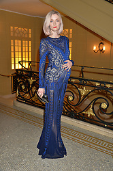 PORTIA FREEMAN at the Lancôme BAFTA Dinner held at The Cafe Royal, Regent's Street, London on 6th February 2015.