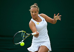 30.06.2014, All England Lawn Tennis Club, London, ENG, WTA Tour, Wimbledon, im Bild Freya Christie (GBR) // 15065000 during the Wimbledon Championships at the All England Lawn Tennis Club in London, Great Britain on 2014/06/30. EXPA Pictures © 2014, PhotoCredit: EXPA/ Propagandaphoto/ David Rawcliffe<br /> <br /> *****ATTENTION - OUT of ENG, GBR*****