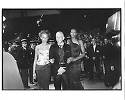 Jean Paul Gaultier, Palais screening, Cannes Film festival 7th May 1997© Copyright Photograph by Dafydd Jones 66 Stockwell Park Rd. London SW9 0DA Tel 020 7733 0108 www.dafjones.com