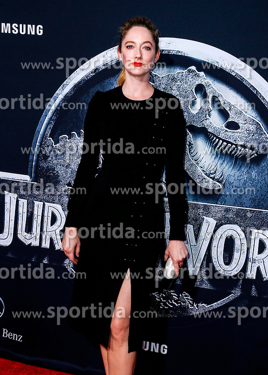 Judy Greer, Jurassic World - World Premiere, at the Dolby Theatre, June 9, 2015 - Hollywood, California, CelebrityPhoto. com. EXPA Pictures &copy; 2015, PhotoCredit: EXPA/ Photoshot/ Celebrity Photo<br /> <br /> *****ATTENTION - for AUT, SLO, CRO, SRB, BIH, MAZ only*****