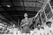 Marina Silva (Rio Branco-Brazil 1958). Inauguration of a rubber farm in Xapurì, in july 1997, then member of the brazilian senate for the state of Acre.She was member of the Partido dos Trabalhadores (PT), and main collaborator of Chico Mendes, the landless leader killed december 22nd, 1988, in Xapuri. In 1994, she was elected to the Senate at the age of 36.In 2003, she was Lula's minister of environment.In 2009, she left the PT for the Brazil Green party, and decided to run for presidency in 2010.