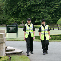 Gleneagles Hotel, Perthshire  G8 Summit   28.06.05<br />