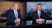 Moto GP-Le Mans, France. Greg Rust and Daryl Beattie in Network Ten studio, Sydney.
