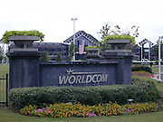 As the sun sets A dark cloud settles over WorldCom headquaters in Clinton Mississippi announced late Tuesday June 25, 2002 the planned layoff of 17,000 workers and Fraud charges are pending against the comapny in the largest fraud case ever filed in U.S. history. Chief Financial Officer, Scott Sullivan was fired tuesday and  Vice Presdient David Myers resigned as top executives deied any knowledge of a cover up. (photo/Suzi Altman)