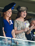 Sarah, Duchess of York and Princess Eugenie attend Royal Ascot.