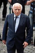 2013/05/07 Roma, funerali di Giulio Andreotti. Nella foto Paolo Cirino Pomicino..Rome, funerals of Giulio Andreotti. In the picture Paolo Cirino Pomicino - © PIERPAOLO SCAVUZZO