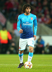 Mohamed Elneny of Arsenal - Mandatory by-line: Robbie Stephenson/JMP - 23/11/2017 - FOOTBALL - RheinEnergieSTADION - Cologne,  - Cologne v Arsenal - UEFA Europa League Group H