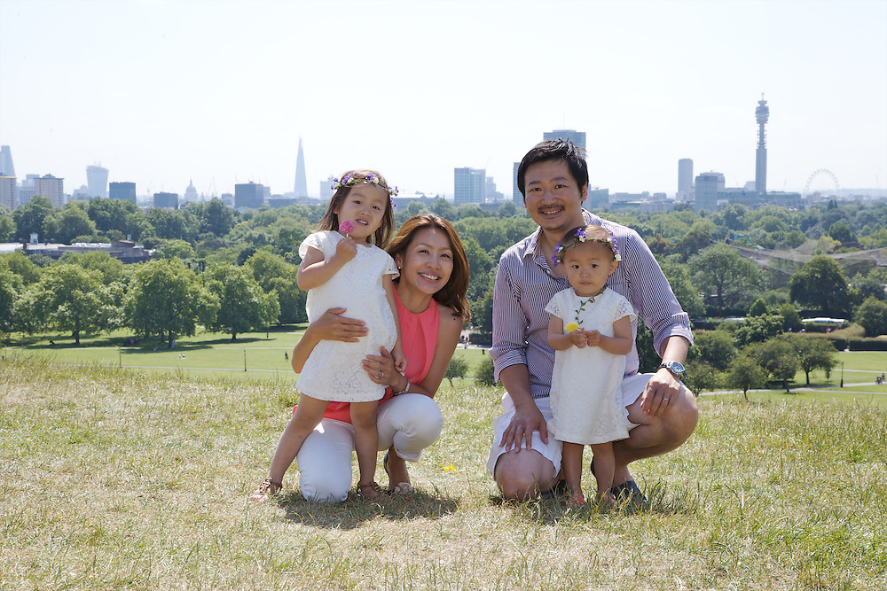 Kosugi Family Portraits, Primrose Hill, London