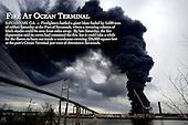 Fire At Ocean Terminal