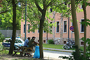 Mannheim. 14.07.17 | Spinelli<br /> Feudenheim. Spinelli. Ehemaliges US Areal wird derzeit als Fl&uuml;chtingsunterkunft verwendet. <br /> 2023 soll hier die Bundesgartenschau BUGA stattfinden.<br /> - Tag der offenen T&uuml;r.<br /> <br /> <br /> BILD- ID 0396 |<br /> Bild: Markus Prosswitz 14JUL17 / masterpress (Bild ist honorarpflichtig - No Model Release!)
