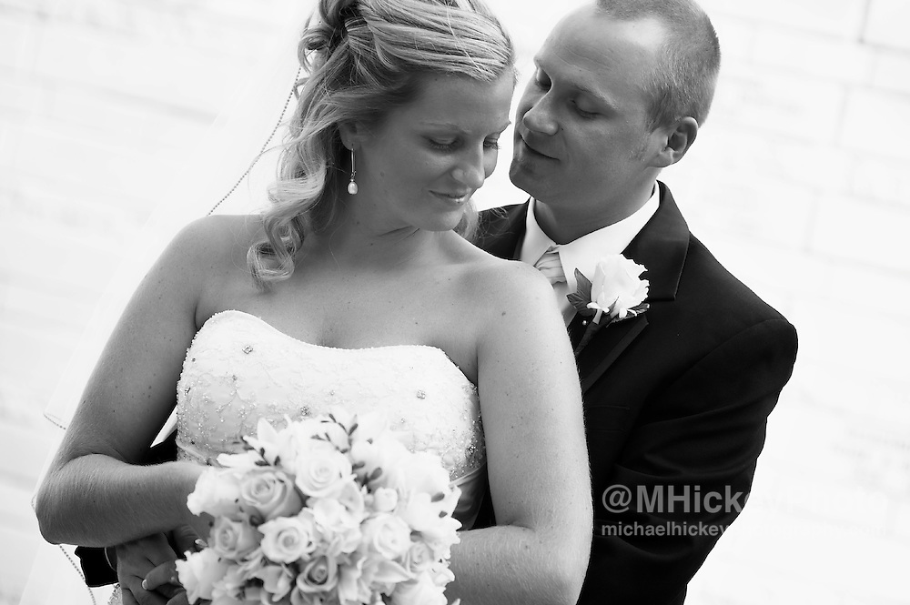 The wedding of Karly Millspaugh and Garrett Cope on Sept 19, 2009 in Indianapolis, Indiana.