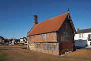 Great Britain England  East Anglia Suffolk Aldeburgh Moot Hall Museum Timber Framed Mid 16thC