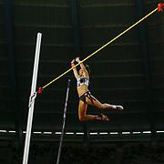 Jennifer Suhr (USA), Women's Pole Vault, during the IAAF Diamond League event at the King Baudouin Stadium, Brussels, Belgium on 6 September 2019.