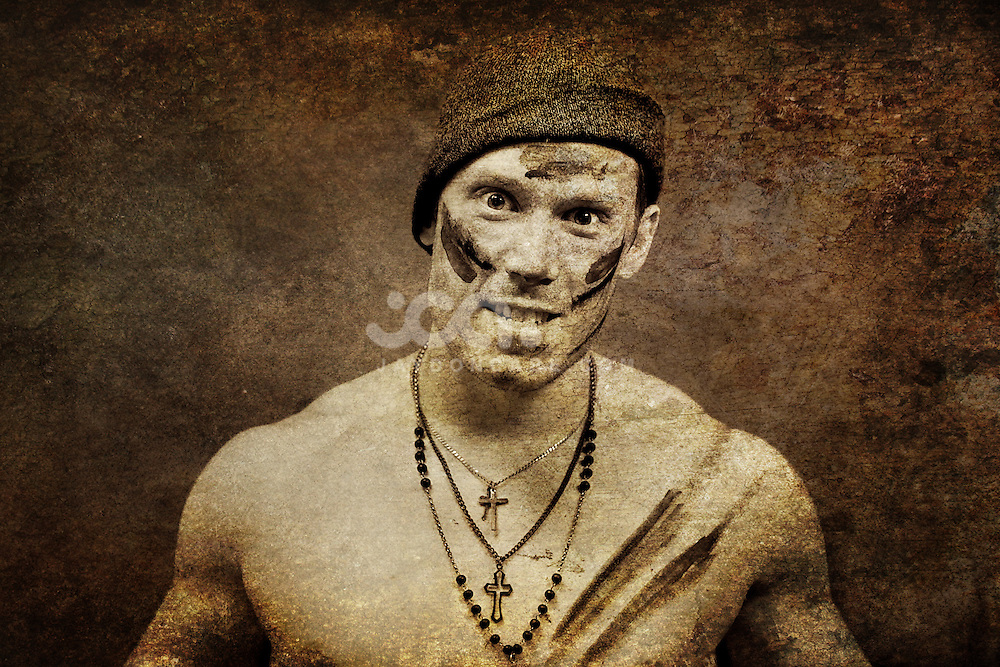 Photomanipulation, grunge shots