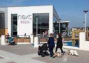 Next Costa shops at Orbital Shopping Park developed by British Land, north Swindon, Wiltshire, England, UK