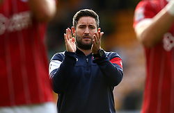 Bristol City head coach Lee Johnson - Mandatory by-line: Robbie Stephenson/JMP - 23/09/2017 - FOOTBALL - Carrow Road - Norwich, England - Norwich City v Bristol City - Sky Bet Championship