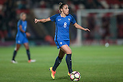 Jessica Houara (France) during the International Friendly match between England Women and France Women at the Keepmoat Stadium, Doncaster, England on 21 October 2016. Photo by Mark P Doherty.