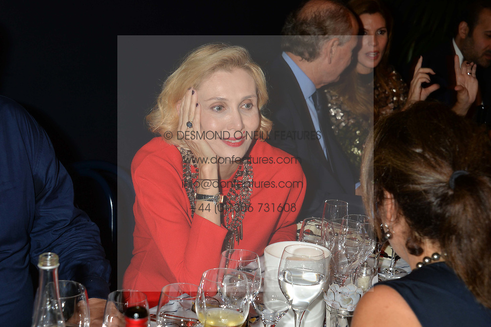 The PAD London 2014 dinner was held in the PAD Pavilion, Berkeley Square, London on 14th October 2014.<br /> ALLEGRA HICKS.
