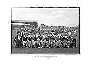 Cork football team - All Ireland Minor Football Semi-Final.<br />