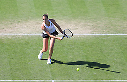 Karolina Pliskova of Czech Republic in aciton - Mandatory by-line: Paul Terry/JMP - 24/06/2016 - TENNIS - Devonshire Park - Eastbourne, United Kingdom - Karolina Pliskova v Johanna Konta - Aegon International Eastbourne