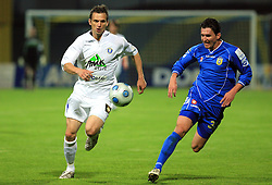 Ales Kacicnik at 30th Round of Slovenian First League football match between NK Domzale and NK MIK CM Celje in Sports park Domzale, on April 25, 2009, in Domzale, Slovenia. Celje won 3:0. (Photo by Vid Ponikvar / Sportida)