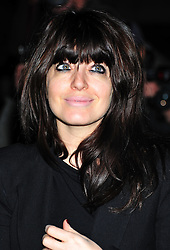 © Licensed to London News Pictures. 06/02/2012.  England. Claudia Winkleman attends the Evening Standard Film Awards at County Hall westminster London Photo credit : ALAN ROXBOROUGH/LNP