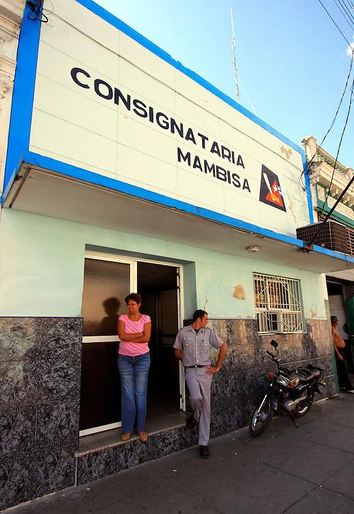 Consignataria Mambisa in Cienfuegos, Cuba.