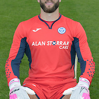 St Johnstone FC Season 2017-18 Photocall<br />Alan Mannus<br />Picture by Graeme Hart.<br />Copyright Perthshire Picture Agency<br />Tel: 01738 623350  Mobile: 07990 594431