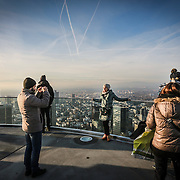 Sky line FRANKFURT AM MAIN, GERMANY.