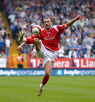 Photo: Daniel Hambury.<br />Charlton Athletic v Portsmouth. The Barclays Premiership. 16/09/2006.<br />Charlton's Dennis Rommedahl.