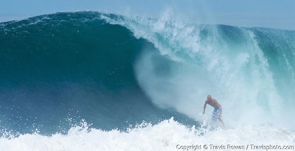 Pro surfer Jamie Obrien in Bali.