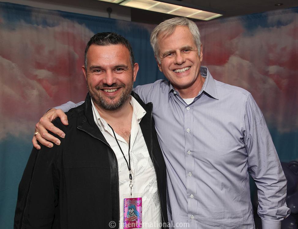 Steve Homer and Steve Jensen (r)