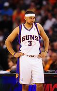 Mar. 14 2010; Phoenix, AZ, USA; Phoenix Suns forward Jared Dudley (3) in the first half at the US Airways Center. Mandatory Credit: Jennifer Stewart-US PRESSWIRE.
