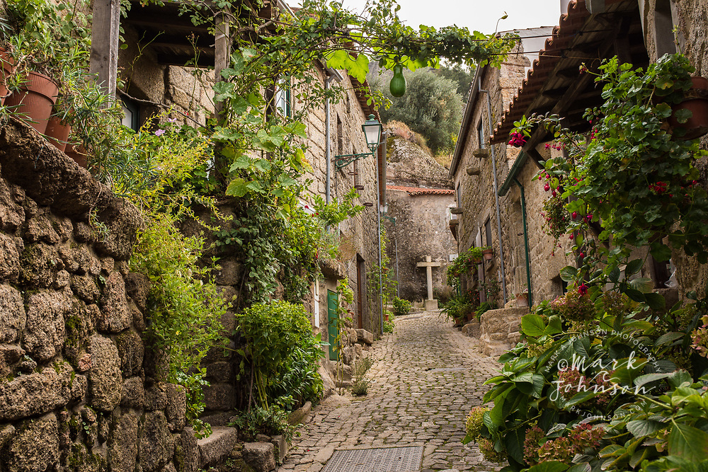 Street views of the village of Monsanto, Portugal