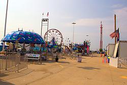 01 August 2014:   McLean County Fair, Amusement rides