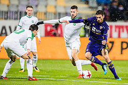 Gregor Bajde of NK Maribor during football match between NK Maribor and NK Olimpija Ljubljana in 2nd leg match in Quaterfinal of Slovenian cup 2017/2018, on November 29, 2017 in Ljudski vrt, Maribor, Slovenia. Photo by Ziga Zupan / Sportida