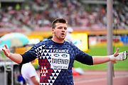 Hugo Tavernier (FRA) competes in Hammer Throw Men during the IAAF World U20 Championships 2018 at Tampere in Finland, Day 4, on July 13, 2018 - Photo Julien Crosnier / KMSP / ProSportsImages / DPPI