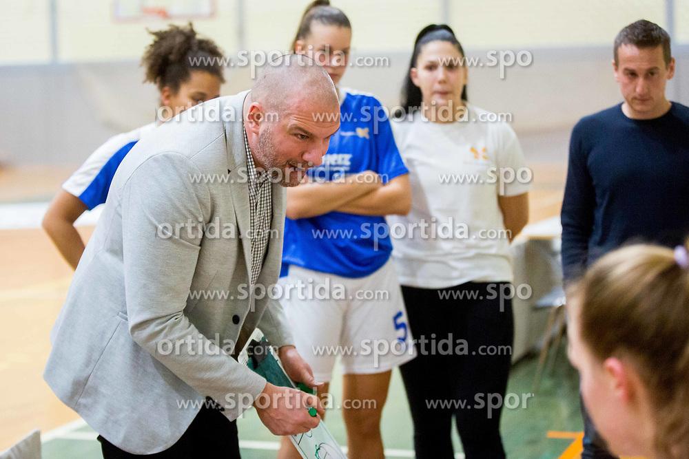 Ernest Novak, head coach of Triglav Kranj during basketball match between ZKK Triglav Kranj and ZKD Maribor in Round #1 of 1. Slovenian Woman basketball league, on February 20, 2018 in ŠD Planina, Kranj, Slovenia. Photo by Ziga Zupan / Sportida