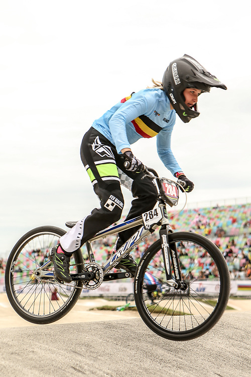 2018 UCI World Championships<br /> Baku, Azerbaijan<br /> Cruiser - 17-29 Women #284 (WILLEM Amber) BEL