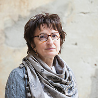 Donatella Di Pietrantonio, Italian writer<br /> 26 October 2014<br /> Photograph by Leonardo Cendamo/Writer Pictures<br /> <br /> UK EXCLUSIVE, WORLD RIGHTS, NO ITALY, <br /> NO AGENCY - DIRECT SALES ONLY
