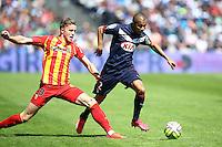 Mariano Ferreira / Baptiste Guillaume - 05.04.2015 - Bordeaux / Lens - 31eme journee de Ligue 1<br />Photo : Manuel Blondeau / Icon Sport