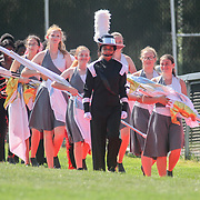 William Penn marching band takes the field for a halftime performance during a week two DIAA game between Middletown and William Penn, Saturday, Sept. 16, 2017 at Bill Cole Stadium in New Castle, DE.