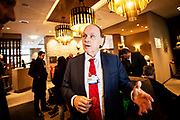 American author, speaker, energy expert, and economic historian Daniel Yergin at the World Economic Forum in Davos.