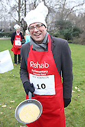 MP's Pancake race Westminster February 2013