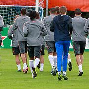 NLD/Katwijk/20110808 - Training Nederlands Elftal voor duel Engeland - Nederland,